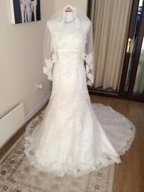 Justin Alexander wedding dress 14