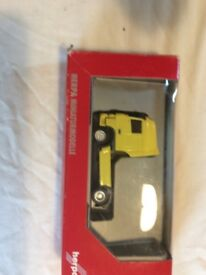 Herpa scale model 1/87 DAF trucks in boxes times 4