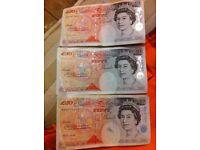 1994 £50 bank notes