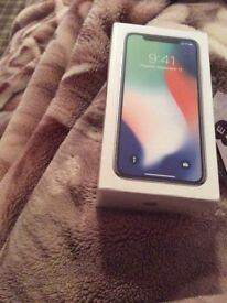 iPhone x EE 64g silver sealed brand new