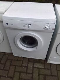 White Tumble dryer vented....Cheap free delivery