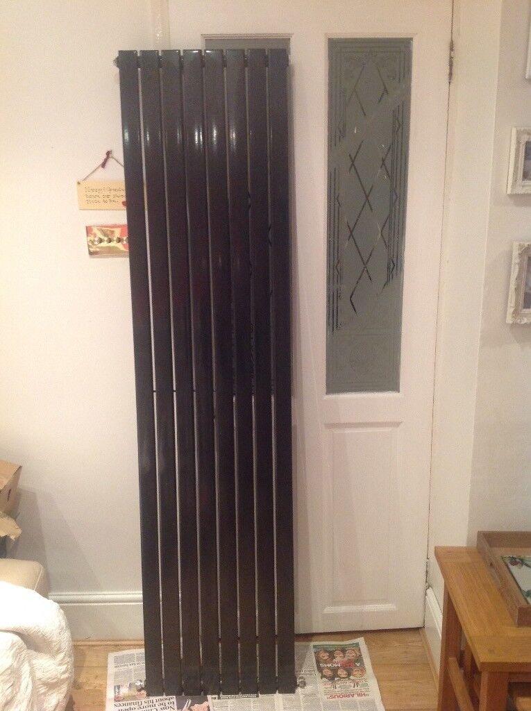 Used tall black radiator.