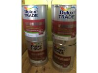 dulux trade weathershield white paint