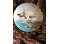 Pan Am collectible plate