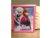 X2 Frozen picture frame