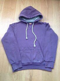 Soulcal Purple Hooded Cotton Sweatshirt-Size = 12