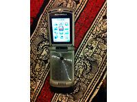 MOTOROLA RAZR V3XX(Unlocked ) Flip Mobile(Excellent condition)