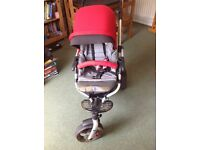 Jane Slalom Pro pushchair compatible with the Matrix light 2 travel system