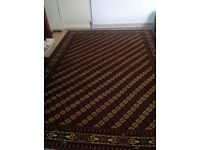 A pair of Persian rugs