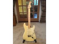 Fender Stratocaster USA Standard, Olympic White, excellent condition