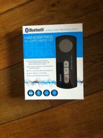 Hands free in car Bluetooth kit brand new in box would make good Xmas gift £15