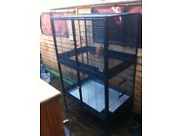 Parrot cage very delux