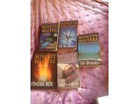 Minette Walters books