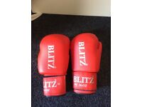 Blitz PU 14oz Boxing Gloves