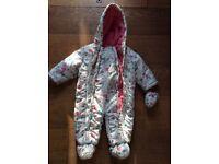 John Lewis Snowsuit 6-9 months