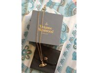 Vivienne Westwood gold pendant necklace
