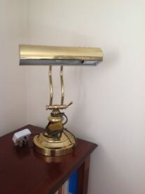 Brass Desk/Table Lamp