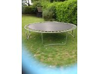 Trampoline for sale, no netting or foam to cover springs ,