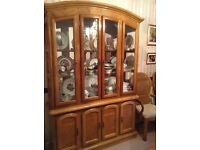 beautiful wall unit / display cabinet