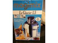 New Magimix 'Le Glacier' ice cream maker