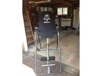 Back Swing ( Inversion Table) for pain relief and back discomfort