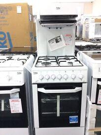 Gas cooker high level new/graded 12 moths gtee