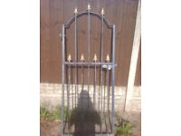 """Heavy , galvanised gate, needs repainting , all fixtures 79"""" by 33"""" £50 no offers"""