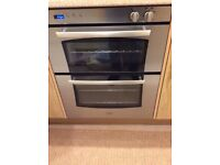 Belling gas double oven