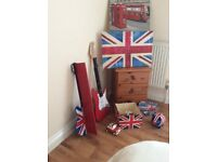 England / Union Jack accessories for bedroom