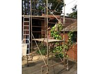 Decorators/builders scaffold tower
