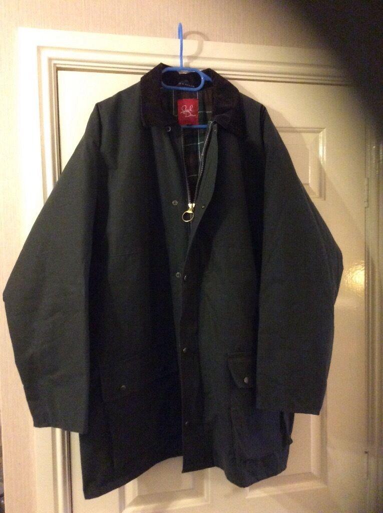 Jackdaw Waxed Jacket, size XL