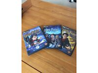 Three Harry Potter PC games