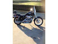 Harley Davidson 883 100yr edition