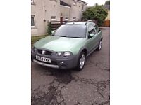 IDEAL,CHEAP TO RUN ROVER STREETWISE MOT NO ADVISORYS AND NO PROBLEMS