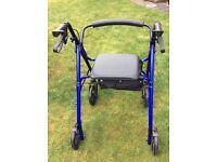 Lightweight 4 Wheel walker
