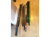 Fishing pole Preston 3002 12.5m Twin Process