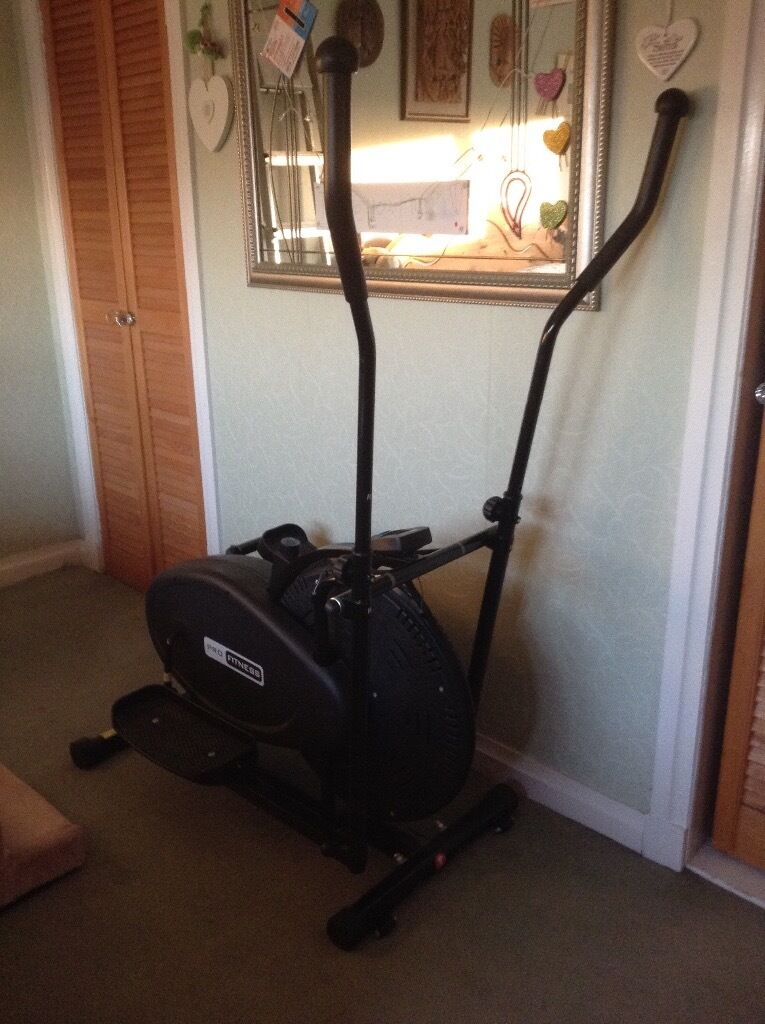 Cross Trainer Pro Fitness from argosin Bucksburn, AberdeenGumtree - Cross trainer, excellent condition, was used up until the beginning of this year. Now only used to hang clothes!!!! From Argos. Excellent condition
