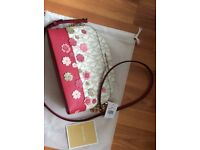 Designer Handbag - Authentic Michael Kors Floral Emmy Bag New with tags