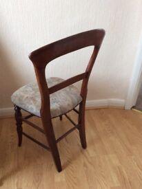Dining chairs needing TLC