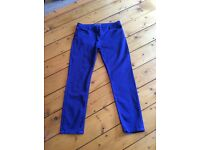 Whistles Royal blue jeans - waist 34""