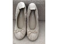 Next girls ballet pumps size 2