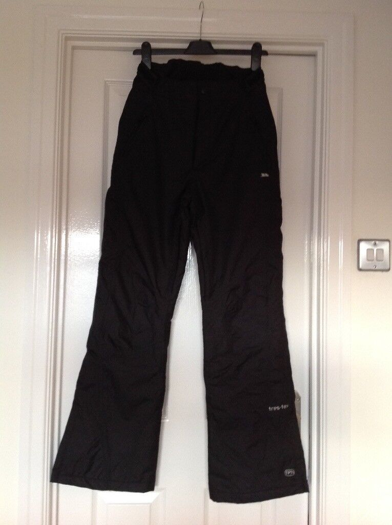 88160bdc11 Ladies Small Tresspass Ski Trousers (sallopettes) Black