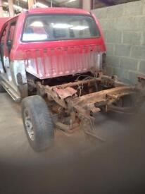Mitsubishi l200 breaking for spares from £10