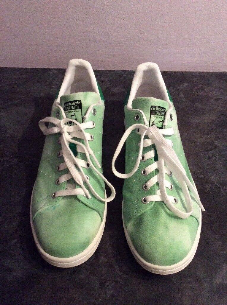8a6f5a7dbb5 Adidas Pharrell Williams Hu Holi Stan Smith Shoes