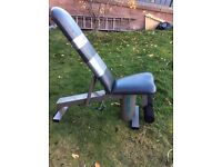 Work out padded variable incline bench
