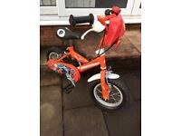 Postman Pat 12 inch wheel bike.