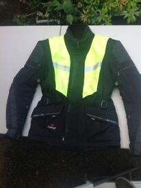 Halvarssons motorcycle jacket and trousers