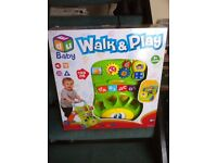 Walk & Play - Baby Walker and Activity Centre