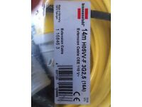110v extension lead 14m ''Brennenstuhl'' 16A, 2.5mm Made in Gernamy