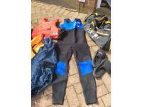 Canoeing gear